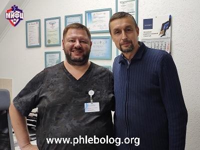 Revisione del flebologo Dmitry Anatolyevich Fedorov