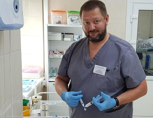 Fedorov Dmitry Anatolyevich - one of the best phlebologists of our center