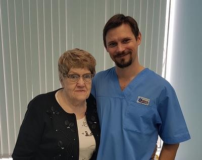 Testimonianza del paziente sul trattamento nel nostro centro dal chirurgo-flebologo V.V. Raskin