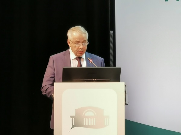 Professor Yu.M. Stoyko reports. (Moscow)