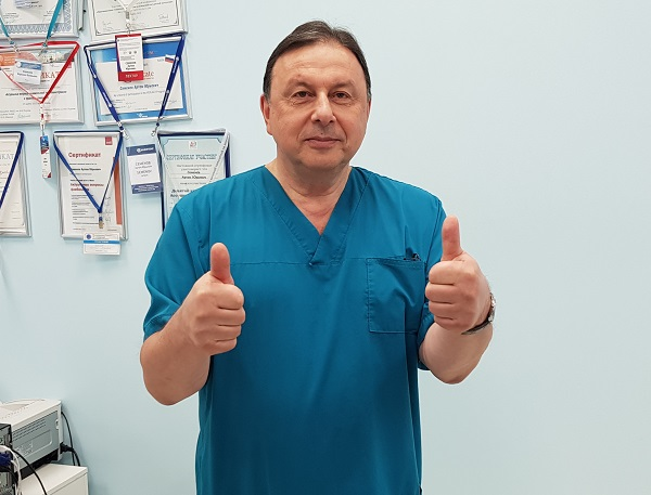 Shimanko Alexander Ilyich - cardiovascular surgeon, phlebologist, MD, professor