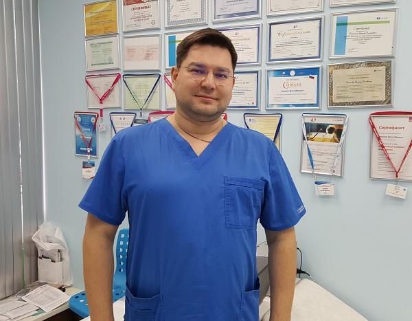 Vascular surgeon, phlebologist Chernykh Konstantin Petrovich