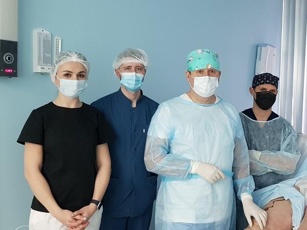 """Master class per chirurghi vascolari di Mosca e Orenburg presso la clinica """"MIFC"""""""