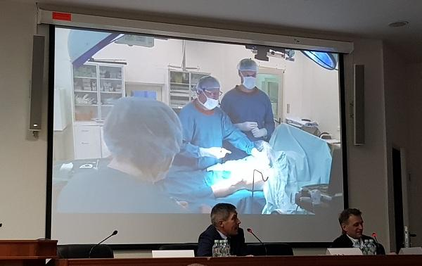 Translation of the RFA procedure from the operating room by E. Ilyukhin