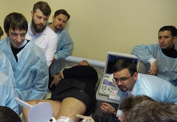 Demonstration of clinical observations in St. Petersburg