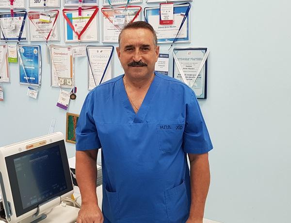 Phlebologist surgeon, Ph.D. Nikonov Petr Vladimirovich (Novotroitsk, Orenburg region)