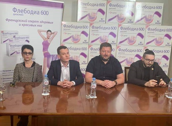 Speakers of the meeting of the Moscow Phlebology Club