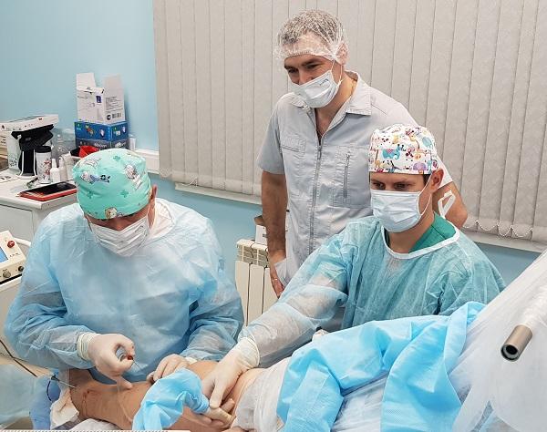 Phlebologist surgeon, Ph.D. Semenov A.Yu.