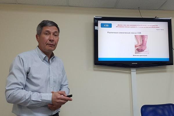Vascular surgeon, phlebologist, professor Sapelkin Sergey Viktorovich