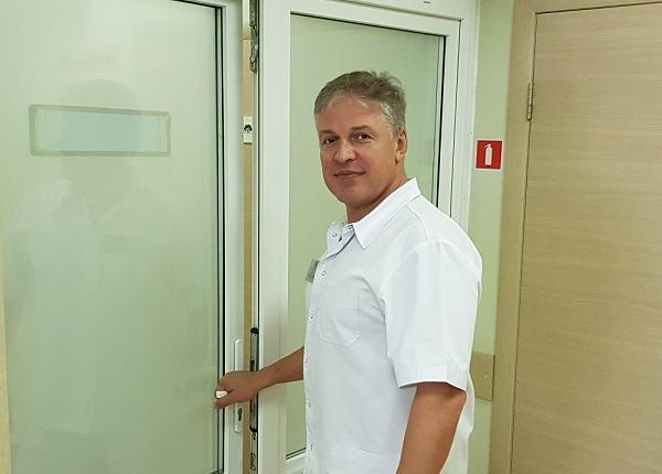 Head of branches in Smolensk, Yartsevo and Safonovo, surgeon phlebologist, ultrasound doctor A. Antipov