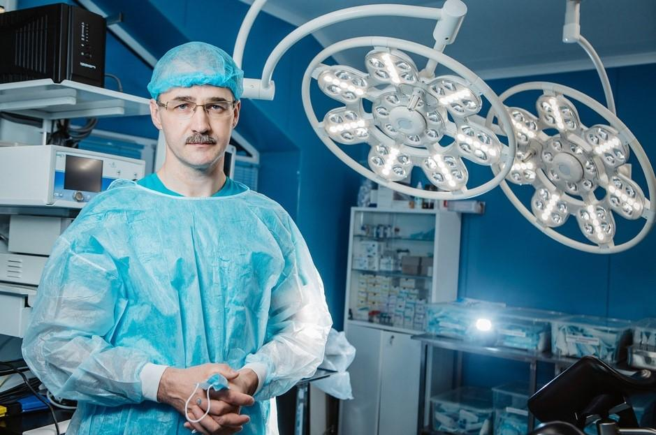 "The head of the ""MIFTS"" branch in Tver, surgeon-phlebologist A. Prutensky"
