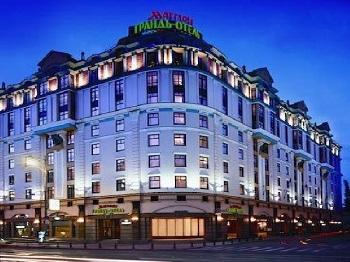 Отель в центре Москвы  Отель Москва Марриотт Ройал Аврора