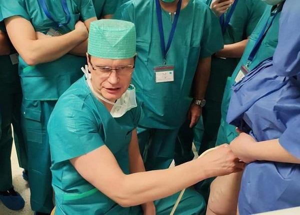 Laser treatment of varicose veins in Riga with Dr. Uldis Maurins