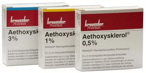 Полидоканол (Этоксисклерол) - aethoxysklerol