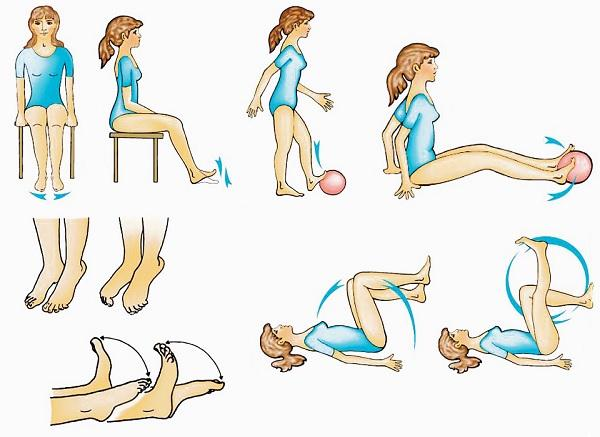 Exercises to improve venous blood flow in the legs