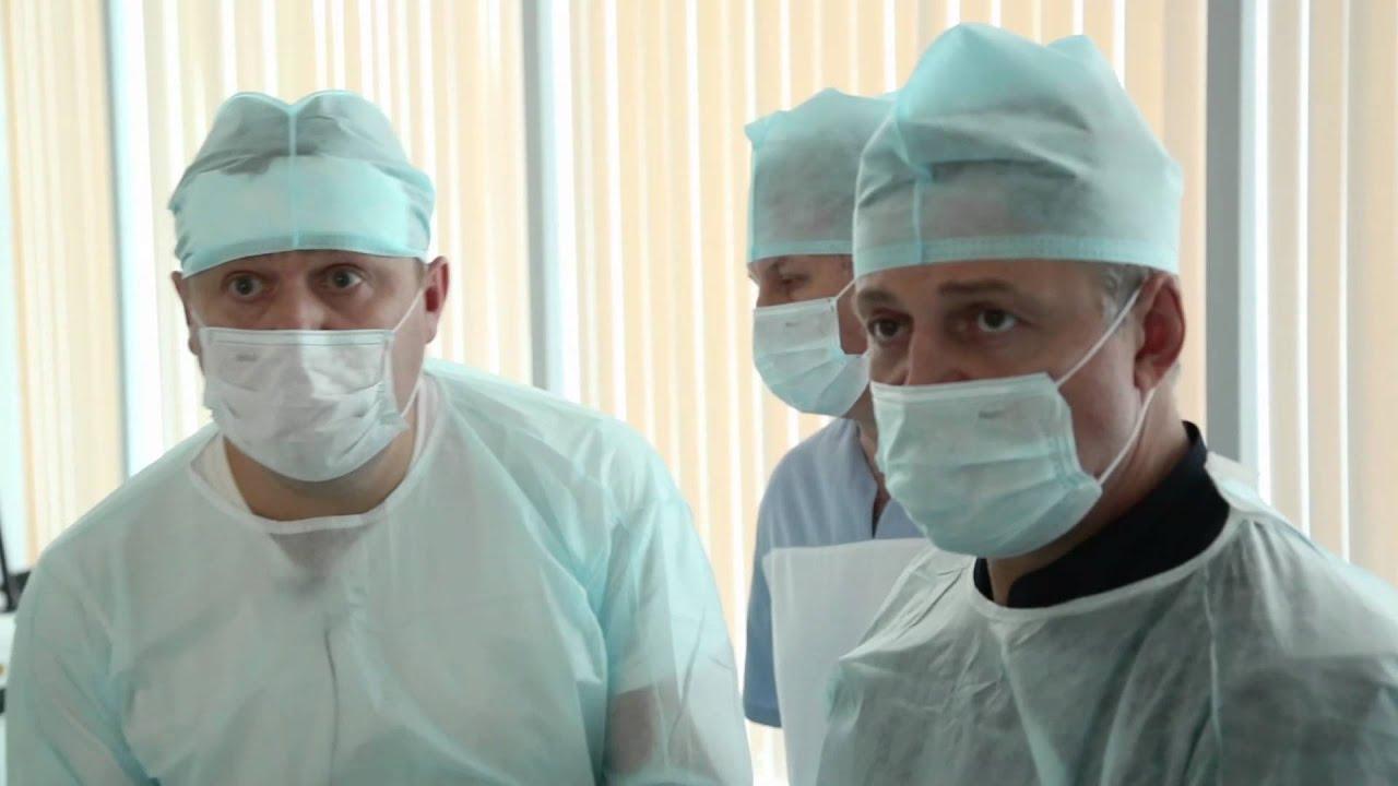 Master class per un chirurgo vascolare e flebologo di Ulyanovsk